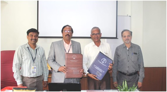 GSSSIETW Signs a MOU with GTTC, Mysuru
