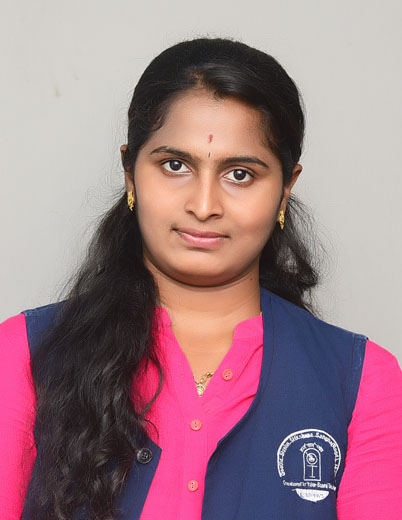 Chaithra K | 5th Rank | M.Tech DCN | 2017-18