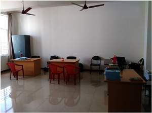 Faculty Room: D-208 (Finance) 51 Sq. Mts | GSSSIETW