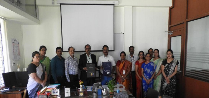 GSSIETW MOU with FLEXITRON, Bengaluru