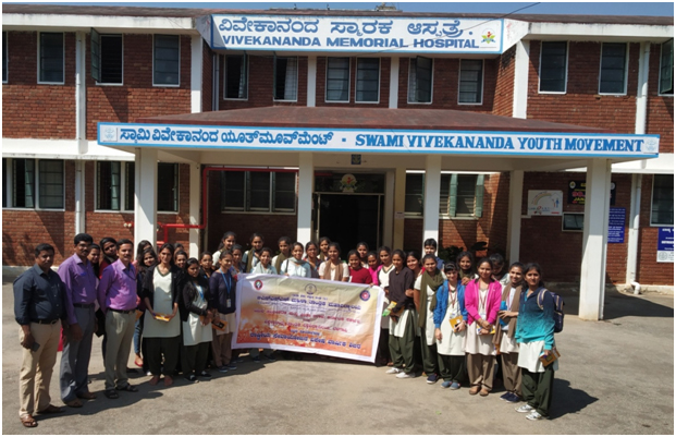 Coordinators with the officials of SVYM, Hospital, Sargur