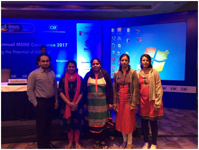 GSSSIETW attended the CII Karnataka Annual MSME Conference 2017