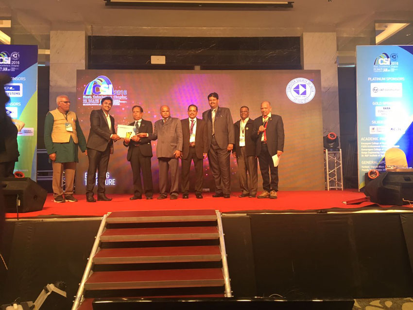 CSI annual convention, 2016 held at Coimbatore