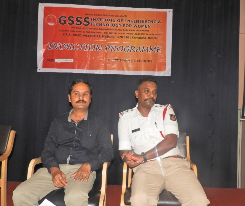 "AWARENESS TALK ON ""TRAFFIC RULES & ROAD SAFETY"" 