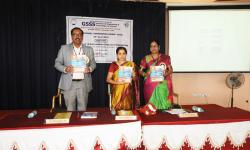 Dignitaries during the release of Conference Proceedings