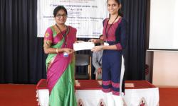 Best Papers being awarded Cash Prize