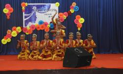 Hostel day 2019 Group Bharathanatiyam dance