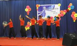 Hostel day 2019 Group dance