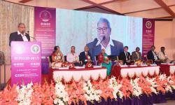 Dr. K Balaveera Reddy, Former Vice Chancellor, Visvesvaraya Technological University, Belagavi addressing the audience