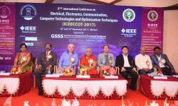 Dignitaries  during the 2nd day of the conference.