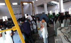 Industrial Visit to Rajamane Soma Inductronics for 6th semester students