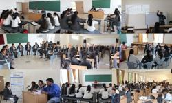 Students of 2nd Semester participating in the Ed Touch Program on 28th April 2018