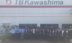 The Students of 1st semester students have visited TB Kawashima India Pvt. Ltd company at Nanjangud Kadakola Industrial Area on 8th December 2017