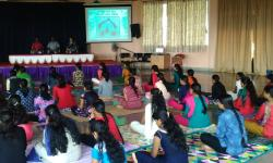 Technical Session on Stress Management through Yoga