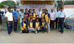 GSSSIETW Students have won VTU rest of Bangalore zone Ball badminton tournament held at MCE Hassan on 16th 17th April 2018 qualified for VTU inter Zone Ball Badminton tournament.