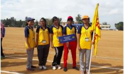 VTU Athletic meet at Dr. T Thimmaiah Instituite of Technology Kolar.