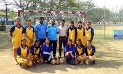 VTU REST OF BANGLORE ZONE HANDBALL WOMEN TOURNAMENT Held on 31 st March 2017 at JNNCE Shimoga.