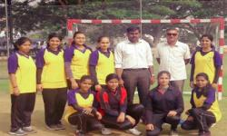 VTU rest of Bangalore-Zone Handball Tournament was held at JNNCE Shivmoga from 18th to 19th April 2018.