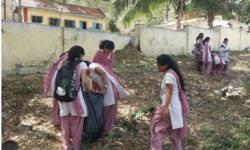 """""""Women Empowerment and Cleanliness Awareness"""" - at Belavatha Village on 29th April 2015"""