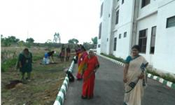 Planting of Saplings in the campus as a part of Go Green movement, by the first outgoing batch of  M.Tech students.